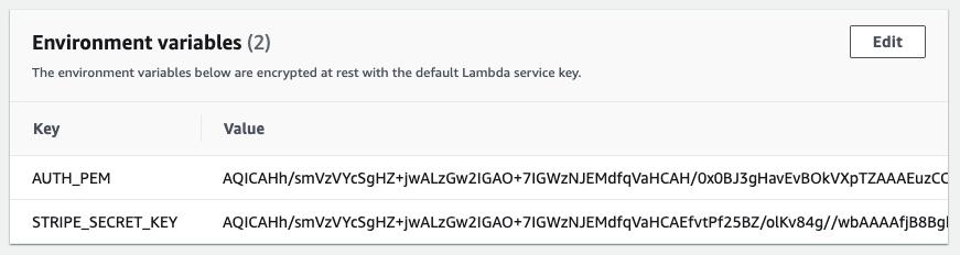 Lambda Environment Variables Encrypted By KMS