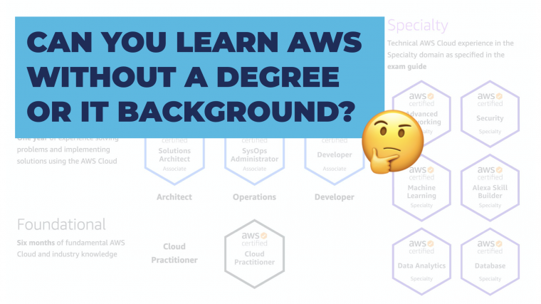 Learn AWS Without Degree?